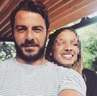 Ο Γιώργος με φαν στο Avanti Cafe-Bar - 24 Αυγούστου 2017 Φωτογραφία: aggelinavass Instagram