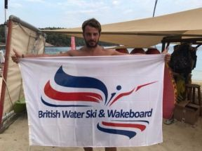 """George Angelopoulous, winner of Survivor Greece 2017 and British Waterski and Wakeboard Level 2 Coach."" - 21 Αυγούστου 2017 Φωτογραφία: nickwells3221 Instagram"