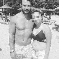 Ο Γιώργος με φαν στη Σκιάθο στις 19 Αυγούστου 2017 Φωτογραφία: sofia.tvaltvantze Instagram