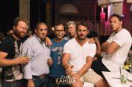 Ο Γιώργος στο νυχτερινό μαγαζί Kalhua Club μαζί με φανς - 17 Αυγούστου 2017 Φωτογραφία: Kahlua Club Facebook
