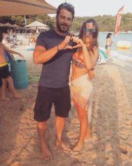 Ο Γιώργος με φαν στη Σκιάθο - 22 Αυγούστου 2017 Φωτογραφία: evapetridi Instagram