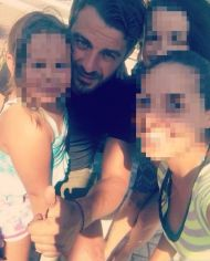 Ο Γιώργος με φανς στην Κουρούτα - 27 Αυγούστου 2017 Φωτογραφία: gina_orfanou Instagram