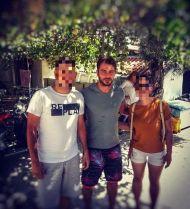 Ο Γιώργος στη Σκιάθο με φανς ανήμερα του 15Αυγούστου Φωτογραφία: savvidouanna Instagram