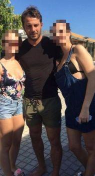 Ο Γιώργος με φανς στην Κουρούτα - 27 Αυγούστου 2017 Φωτογραφία: elisabetkon Instagram