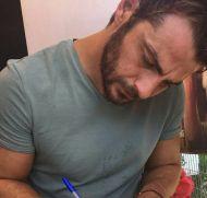 """Ο Γιώργος στον φούρνο """"Ντάνος"""" στη Σκιάθο - 12 Αυγούστου 2017 Φωτογραφία: efiiii__ Instagram"""