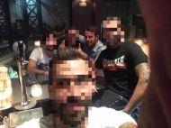 Ο Γιώργος με φίλους στο Avanti Cafe-Bar - 25 Αυγούστου 2017