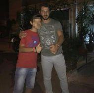 Ο Γιώργος με φαν στο Avanti Cafe-Bar - 8 Σεπτεμβρίου 2017 Φωτογραφία: _.gewrgakopoulos._ Instagram