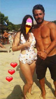 Ο Γιώργος με φαν στη Σκιάθο - 22 Αυγούστου 2017 Φωτογραφία: barbara.siouli Instagram
