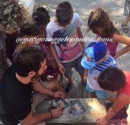 Ο Γιώργος στον Ναυτικό Όμιλο Σκιάθου για την παραλαβή διπλώματος στην ιστιοπλοΐα - 14 Αυγούστου 2017 Φωτογραφία: giorgosaggelopoulos_fans Instagram