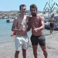 Ο Γιώργος μαζί με φαν στον Ναυτικό Όμιλο Βουλιαγμένης - 10 Αυγούστου 2017 Φωτογραφία: lukas_vamvakas Instagram