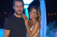 Ο Γιώργος με την Σόφη στο πάρτι του Survivor στο Grand Beach Λαγονήσι - 6 Ιουλίου 2017 Φωτογραφία: sofipasxali Instagram
