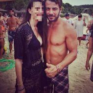 Ο Γιώργος με φαν στη Σκιάθο - 21 Αυγούστου 2017 Φωτογραφία: sylvikoumanakou Instagram