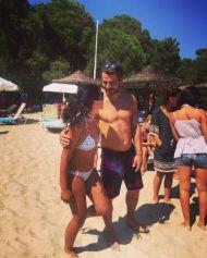 Ο Γιώργος με φαν στη Σκιάθο - 14 Αυγούστου 2017 Φωτογραφία: chara_br Instagram