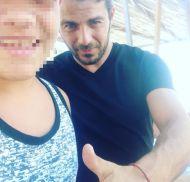 Ο Γιώργος με φαν στην Κουρούτα - 27 Αυγούστου 2017 Φωτογραφία: __nikolakis___ Instagram
