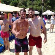 Ο Γιώργος με φαν στη Σκιάθο - 14 Αυγούστου 2017 Φωτογραφία: souliwths76 Instagram