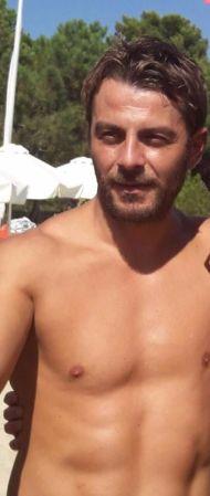 Ο Γιώργος στη Σκιάθο στις 12 Αυγούστου 2017 Φωτογραφία: Barracuda Beach Bar Facebook