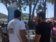 Ο Γιώργος στον Ναυτικό Όμιλο Σκιάθου για την παραλαβή διπλώματος στην ιστιοπλοΐα - 14 Αυγούστου 2017 Φωτογραφία: Nautical Club of Skiathos Facebook