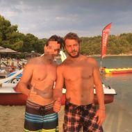 Ο Γιώργος με φαν στη Σκιάθο - 21 Αυγούστου 2017 Φωτογραφία: roula_s_k Instagram