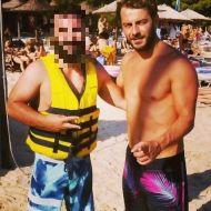Ο Γιώργος με φαν στη Σκιάθο - 14 Αυγούστου 2017 Φωτογραφία: xrhstos_gia Instagram