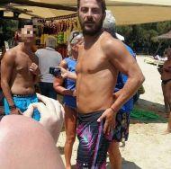Ο Γιώργος στην Σκιάθο - 15 Ιουλίου 2017 Φωτογραφία: aggelopoulitomoy Instagram
