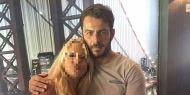 Ο Γιώργος μαζί με φαν στο Avanti Cafe-Bar στις 13 Σεπτεμβρίου 2017 Φωτογραφία: Anta Gk Facebook