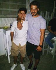 Ο Γιώργος στην Σκιάθο μαζί με φαν - 11 Αυγούστου 2017 Φωτογραφία: geooorge_f Instagram