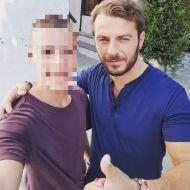 Ο Γιώργος μαζί με φαν στην Σκιάθο στις 14 Σεπτεμβρίου 2017 Φωτογραφία: kwnstantinos.patsogiannis Instagram