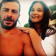 Ο Γιώργος με φαν στη Σκιάθο στις 19 Αυγούστου 2017 Φωτογραφία: eleni_loyy Instagram