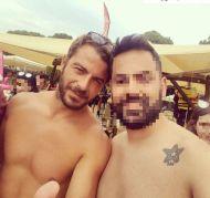 Ο Γιώργος με φαν στη Σκιάθο - 21 Αυγούστου 2017 Φωτογραφία: hpchris13 Instagram