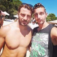 Ο Γιώργος με φαν στη Σκιάθο - 13 Αυγούστου 2017 Φωτογραφία: harrys_mirtsosgr Instagram