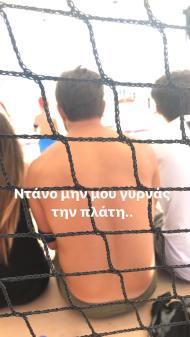 Ο Γιώργος στη Βάρκιζα όπου βρέθηκε με άλλους παίκτες του Survivor για το Make a Wish - 19 Σεπτεμβρίου 2017 Φωτογραφία: nmichalos Instagram