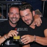 Ο Γιώργος και ο φίλος του, Άκης, στο Club 22 - 21 Σεπτεμβρίου 2017 Φωτογραφία: FThis