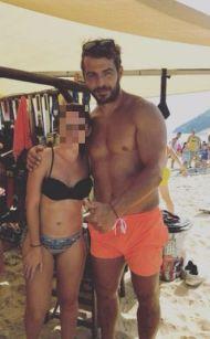 Ο Γιώργος με φαν στη Σκιάθο στις 19 Αυγούστου 2017 Φωτογραφία: iwanna.mamouxa Instagram