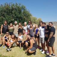 Ο Γιώργος μαζί με σχεδόν όλους τους παίκτες του Survivor στη Βάρκιζα για να εκπληρώσουν μια ευχή - Make a Wish - 19 Σεπτεμβρίου 2017 Φωτογραφία: _artemis_tolli Instagram