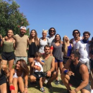 Ο Γιώργος μαζί με σχεδόν όλους τους παίκτες του Survivor στη Βάρκιζα για να εκπληρώσουν μια ευχή - Make a Wish - 19 Σεπτεμβρίου 2017 Φωτογραφία: gspaliaras Instagram