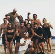Ο Γιώργος μαζί με σχεδόν όλους τους παίκτες του Survivor στη Βάρκιζα για να εκπληρώσουν μια ευχή - Make a Wish - 19 Σεπτεμβρίου 2017 Φωτογραφία: sofipasxali Instagram