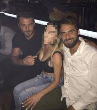 Ο Γιώργος μαζί με τον Μάριο στο Club 22 - 21 Σεπτεμβρίου 2017 Φωτογραφία: georgiavrana_official Instagram