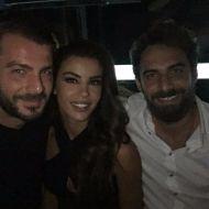 Ο Γιώργος μαζί με την Ειρήνη και τον Μάριο στο Club 22 - 21 Σεπτεμβρίου 2017 Φωτογραφία: official_danos_ga Instagram