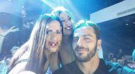 Ο Γιώργος μαζί με τον φανς στο Frangelico - 21 Σεπτεμβρίου 2017 Φωτογραφία: rafaela_ele Instagram