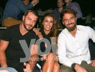 Ο Γιώργος, η Ειρήνη και ο Μάριος στο Club 22 - 21 Σεπτεμβρίου 2017 Φωτογραφία: You Weekly