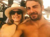 Ο Γιώργος με φαν στη Σκιάθο στις 17 Αυγούστου 2017 Φωτογραφία: fotini_v_ Instagram
