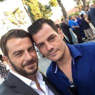 Ο Γιώργος σε φιλικό γάμο στη Θεσσαλονίκη μαζί με τον αδελφό του Χάρη - 23 Σεπτεμβρίου 2017 Φωτογραφία: gregoreszakharias Instagram