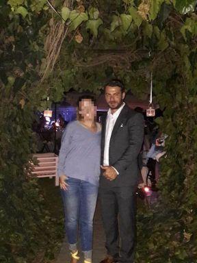 Ο Γιώργος στη δεξίωση του γάμου που παρευρέθηκε στη Θέρμη Θεσσαλονίκης στο Kiwi Garden - 23 Σεπτεμβρίου 2017 Φωτογραφία: Kiwi Garden Facebook