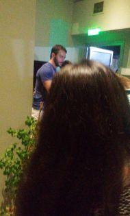 Ο Γιώργος φτάνει στον Εύοσμο Θεσσαλονίκης για τη συνάντηση με τους φανς - 24 Σεπτεμβρίου 2017 Φωτογραφία: _georgentaout2_ Instagram
