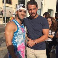 Ο Γιώργος με φαν στην Πλατεία Αριστοτέλους στη Θεσσαλονίκη - 24 Σεπτεμβρίου 2017 Φωτογραφία: alexandrosrodosthenous Instagram