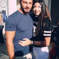 Ο Γιώργος με φαν στην Πλατεία Αριστοτέλους στις 24 Σεπτεμβρίου 2017 Φωτογραφία: Μαρία Σαργιανίδου Facebook