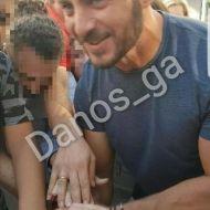 Ο Γιώργος με φανς στην Πλατεία Αριστοτέλους - 24 Σεπτεμβρίου 2017 Φωτογραφία: danos_ga Facebook