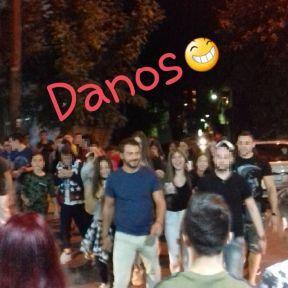 Ο Γιώργος φτάνει στον Εύοσμο Θεσσαλονίκης για τη συνάντηση με τους φανς - 24 Σεπτεμβρίου 2017 Φωτογραφία: georgeag15 Instagram
