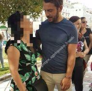 Ο Γιώργος με φαν στην Πλατεία Αριστοτέλους στη Θεσσαλονίκη - 24 Σεπτεμβρίου 2017 Φωτογραφία: giorgos_aggelopoulos_friends Instagram
