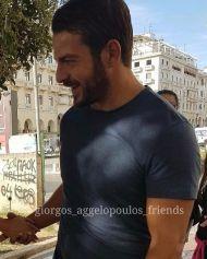Ο Γιώργος στην Πλατεία Αριστοτέλους στη Θεσσαλονίκη - 24 Σεπτεμβρίου 2017 Φωτογραφία: giorgos_aggelopoulos_friends Instagram